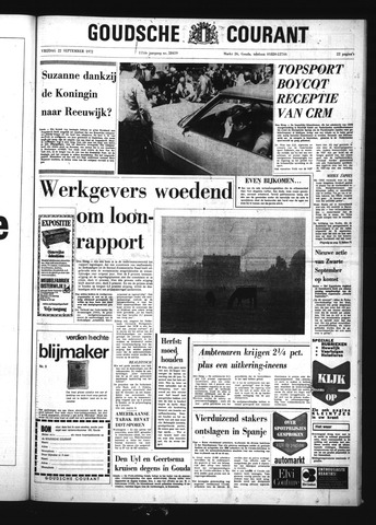 Goudsche Courant 1972-09-22