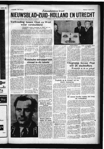 Schoonhovensche Courant 1961-08-07