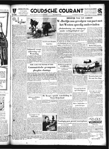 Goudsche Courant 1952-05-13
