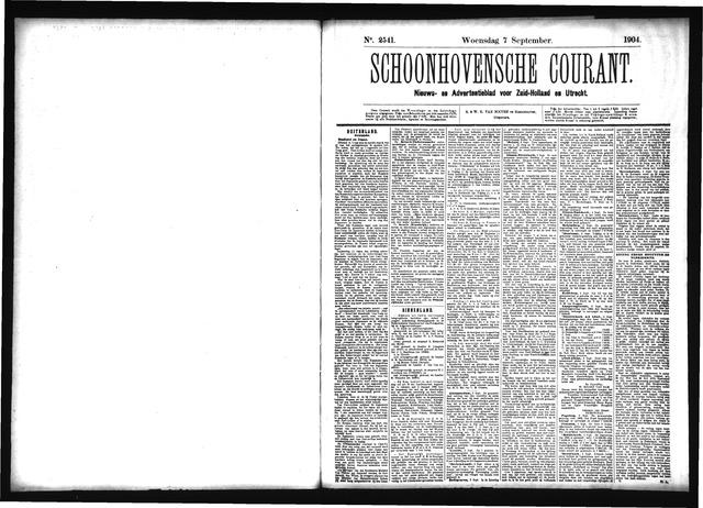 Schoonhovensche Courant 1904-09-07