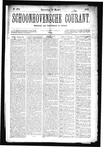Schoonhovensche Courant 1888-03-10