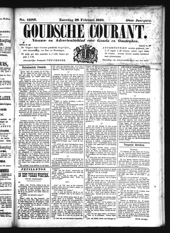 Goudsche Courant 1910-02-26