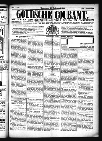Goudsche Courant 1930-02-26