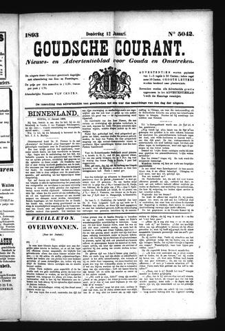 Goudsche Courant 1893-01-12