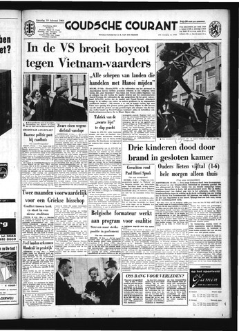 Goudsche Courant 1966-02-19