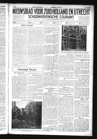 Schoonhovensche Courant 1934-07-11