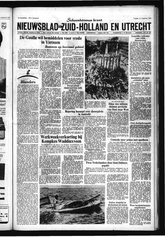 Schoonhovensche Courant 1966-08-12