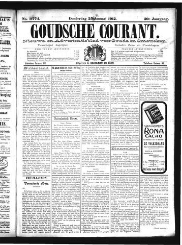 Goudsche Courant 1912-01-25