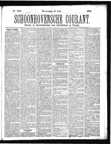 Schoonhovensche Courant 1906-07-25