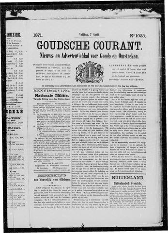 Goudsche Courant 1871-04-07