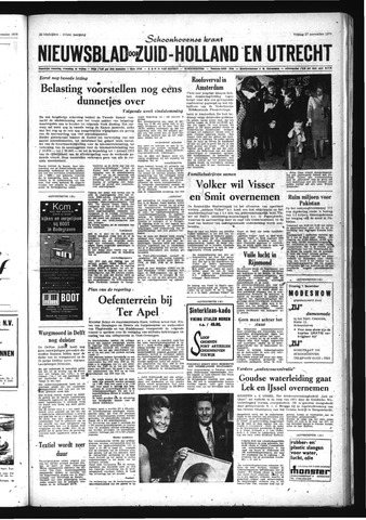 Schoonhovensche Courant 1970-11-27