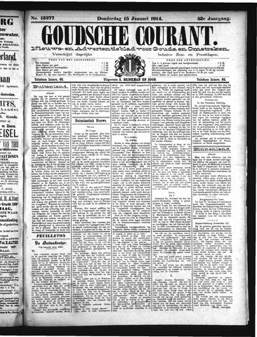 Goudsche Courant 1914-01-15
