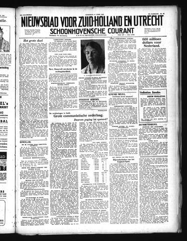 Schoonhovensche Courant 1948-04-21