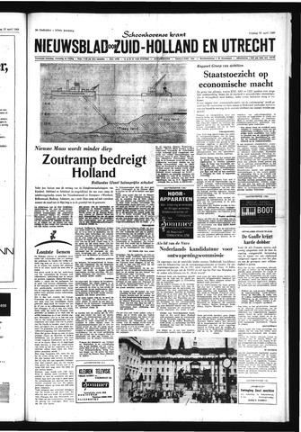 Schoonhovensche Courant 1969-04-25