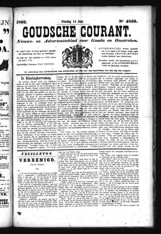 Goudsche Courant 1892-06-14