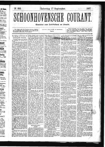 Schoonhovensche Courant 1887-09-17