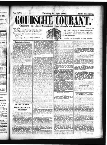 Goudsche Courant 1900-04-14