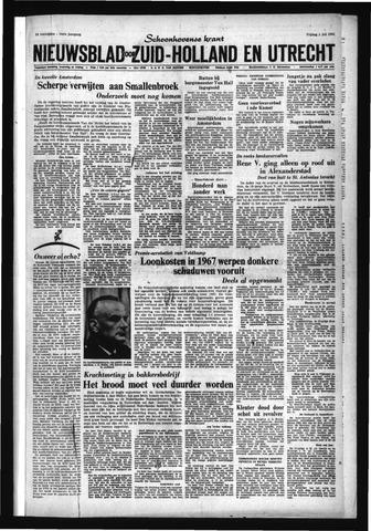 Schoonhovensche Courant 1966-07-01