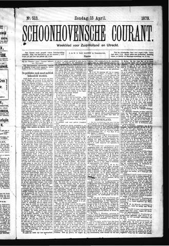 Schoonhovensche Courant 1879-04-13