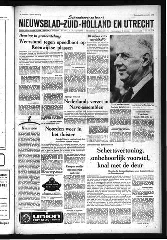Schoonhovensche Courant 1970-11-11