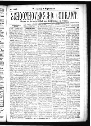 Schoonhovensche Courant 1909-09-08