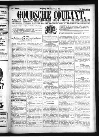 Goudsche Courant 1934-08-24