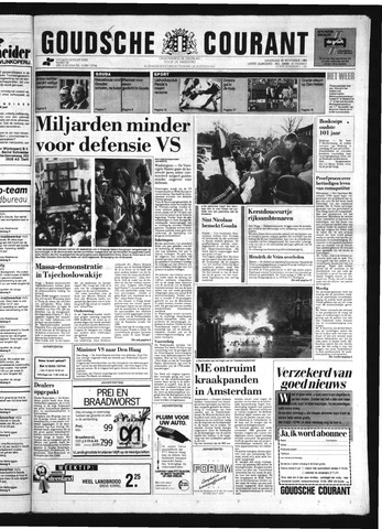 Goudsche Courant 1989-11-20