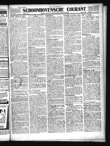 Schoonhovensche Courant 1943-11-12