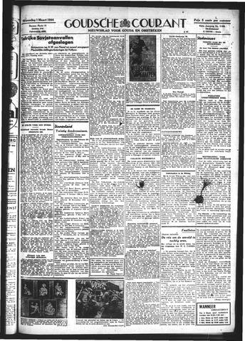 Goudsche Courant 1944-03-01