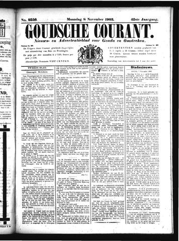 Goudsche Courant 1903-11-09