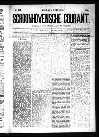 Schoonhovensche Courant 1877-10-07