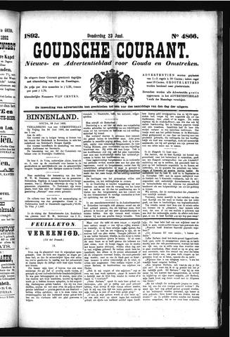 Goudsche Courant 1892-06-23