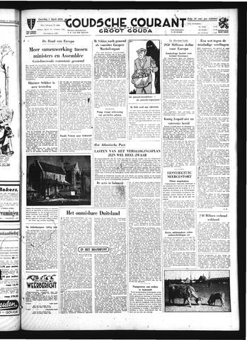 Goudsche Courant 1950-04-01