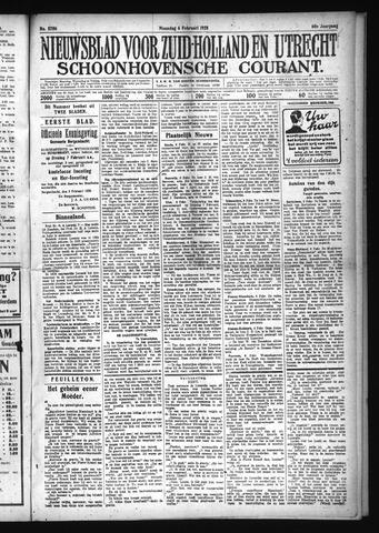 Schoonhovensche Courant 1928-02-06