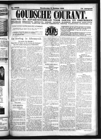 Goudsche Courant 1935-10-31