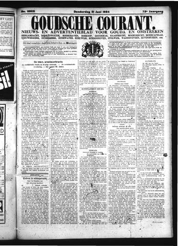 Goudsche Courant 1934-06-21