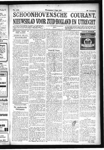 Schoonhovensche Courant 1927-06-08