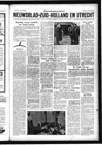 Schoonhovensche Courant 1959-11-11