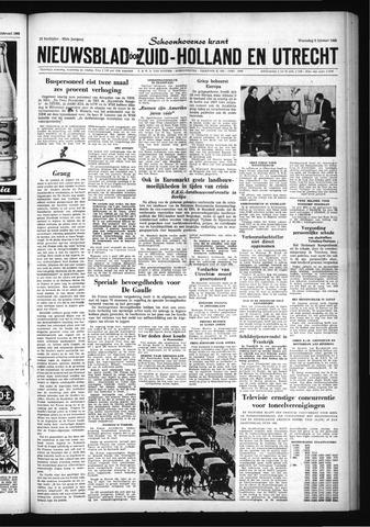 Schoonhovensche Courant 1960-02-03