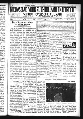 Schoonhovensche Courant 1934-06-29