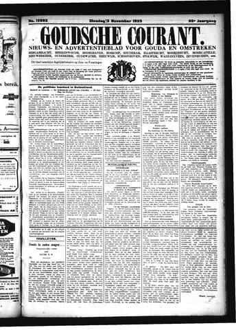 Goudsche Courant 1925-11-03
