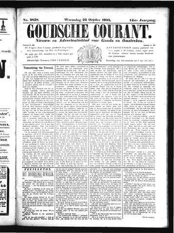 Goudsche Courant 1905-10-25