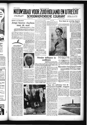 Schoonhovensche Courant 1956-01-25