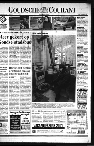 Goudsche Courant 2001-01-11
