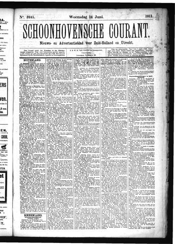 Schoonhovensche Courant 1911-06-14