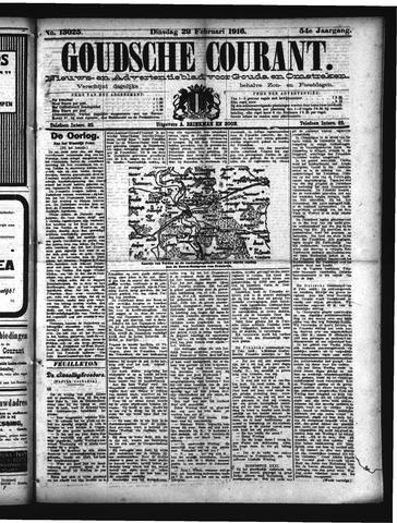 Goudsche Courant 1916-02-29