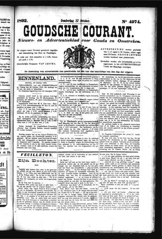 Goudsche Courant 1892-10-27