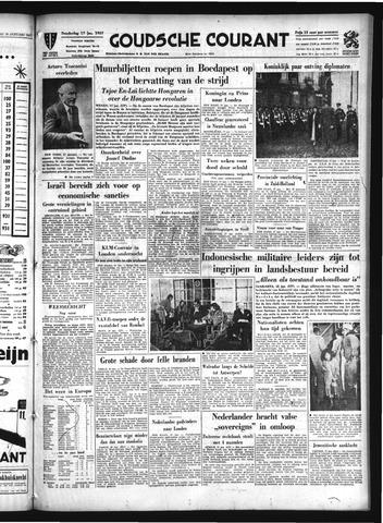 Goudsche Courant 1957-01-17