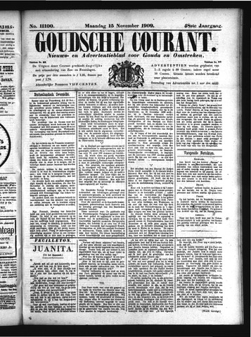 Goudsche Courant 1909-11-15