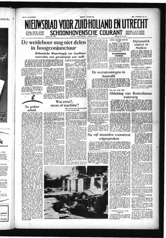 Schoonhovensche Courant 1955-03-04